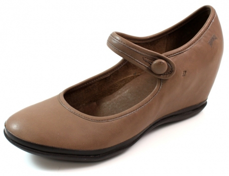 Camper schoenen spiral eses Bruin CAM81