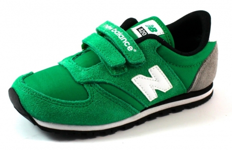 New Balance kids sneakers online KE420 Olive NEW12