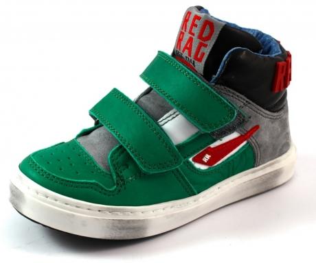 Red Rag online klitteband schoenen 4463 Olive RED69