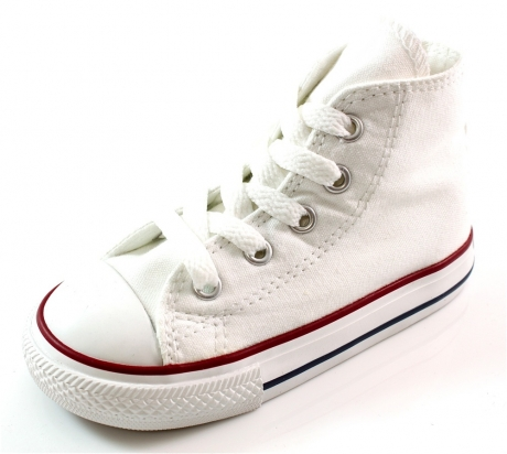 Converse ALL STAR HI KIDS WHITE Wit ALL23