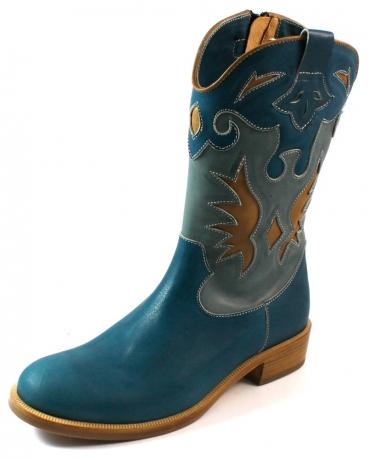 Zecchino d'Oro online laarzen F18-4836 Blauw ZEC31