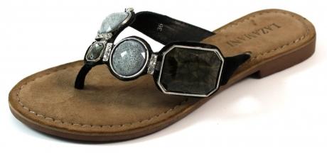 Lazamani online slippers 75215 Zwart LAZ04