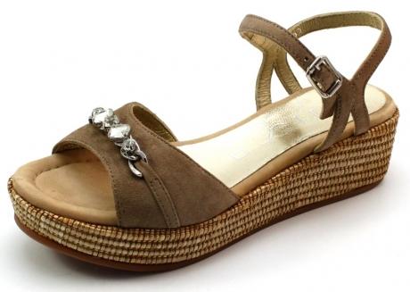 Unisa sandalen online Tisu Beige / Khaki UNI52