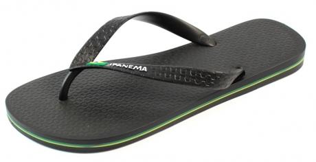Ipanema kids slippers online Classic Brasil Zwart IPA56