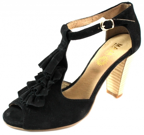 Maja sandaal N101 Zwart MAJ06