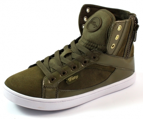 Pastry online sneakers Smoothie zip Olive PAS15
