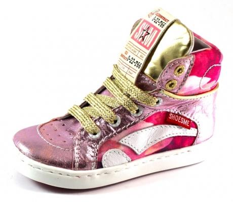 Shoesme veterschoenen online UR4S023 Roze SHO27