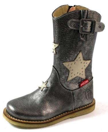 Shoesme online laarsjes sterren CR3W019 Zilver SHO50