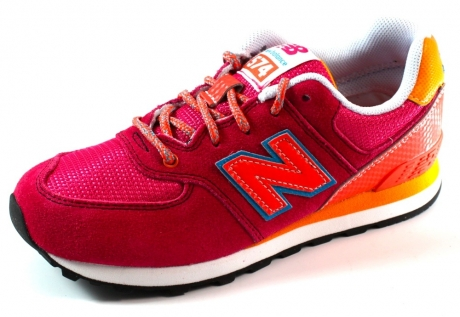 New Balance kids sneakers online KL574 Roze NEW25