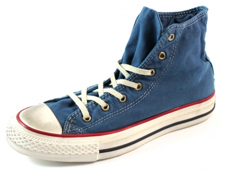 Converse schoenen online All Star High Blauw CON02