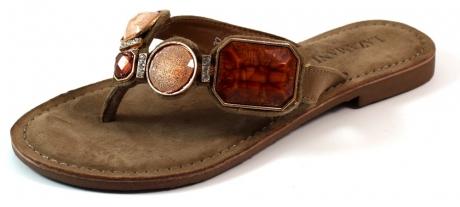 Lazamani online slippers 75215 Taupe LAZ03