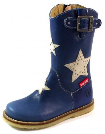Shoesme online laarsjes sterren CR3W019 Blauw SHO49