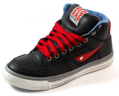 Red Rag online sneaker 4480 Zwart RED60