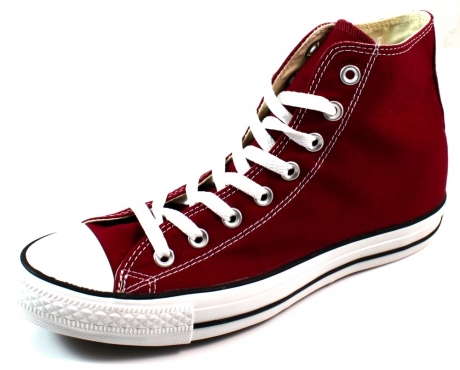 Converse Chuck Taylor All Star Core Ox, Rojo (Granate), 9 D(M) US