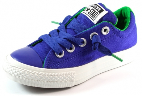 Converse All Stars sneaker Street Mid Blauw CON28