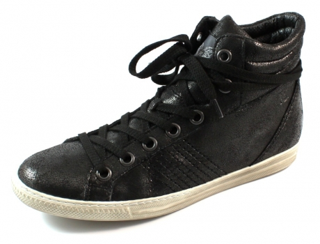 Paul Green sneakers online shop 4131 Zwart PAU84