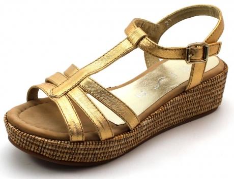 Unisa sandalen online Trapa Goud UNI53