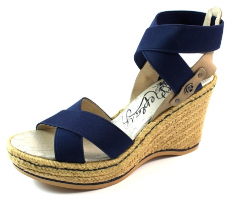 Replay online sandalen SHE Blauw REP98