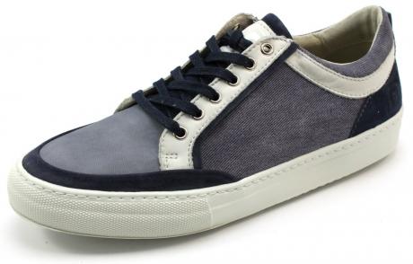 Shoe Republic schoenen online low lace Blauw BLI01