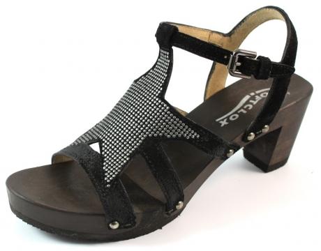 Softclox online sandalen Mia Kaleido Zwart SOF17