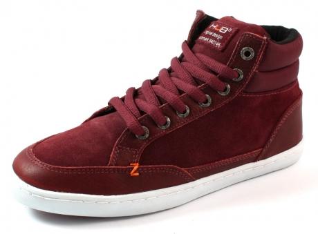 Hub online sneaker Detroit Rood HUB38