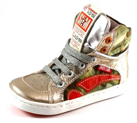 Shoesme veterschoenen online UR4S023 Goud SHO33