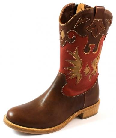 Zecchino d'Oro online laarzen F18-4836 Bruin ZEC27