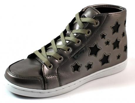 Pastry online sneakers Tiramisu mid Zilver PAS17