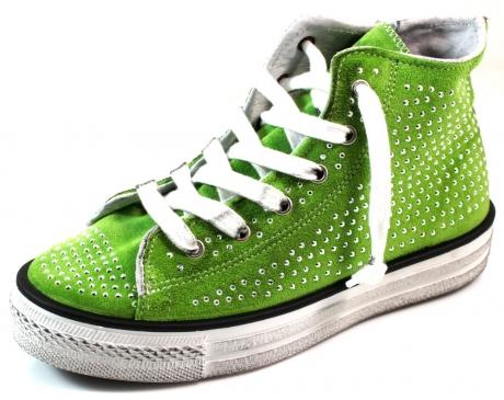 WOZ sneaker online 018002WO Olive WOZ02