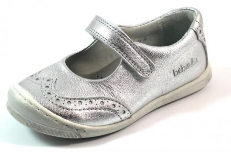 Beberlis schoenen online 16049 Zilver BEB19