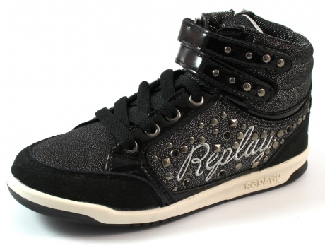 Replay online sneaker Middletown Zwart REP99