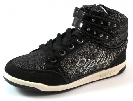 Replay online sneaker Middletown Zwart REP99