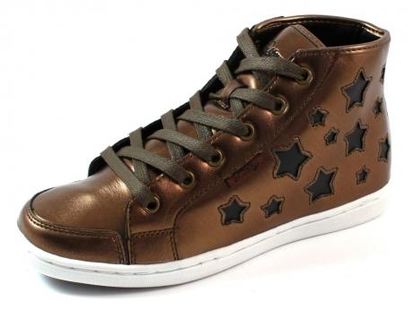 Pastry online sneakers Tiramisu mid Brons, Roest PAS16
