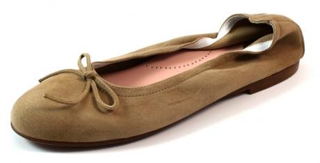 Beberlis online ballerina's dames Beige / Khaki BEB23