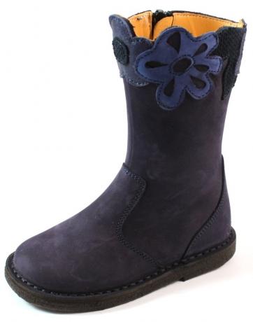 Zecchino d'Oro laarzen online A06-696 crèpe Blauw ZEC26