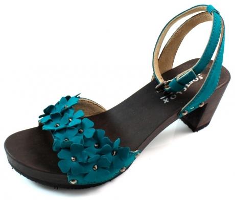 Softclox sandalen online Mali Licht blauw SOF16