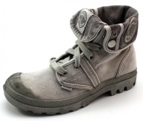 Palladium schoenen online Pallabrouse baggy Grijs PAL50