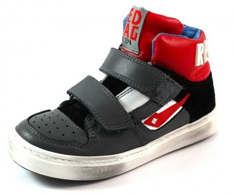 Red Rag online klitteband schoenen 4463 Grijs RED65