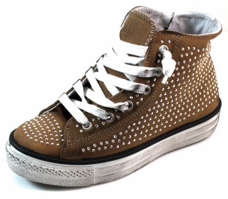WOZ sneaker online 018002WO Bruin WOZ03