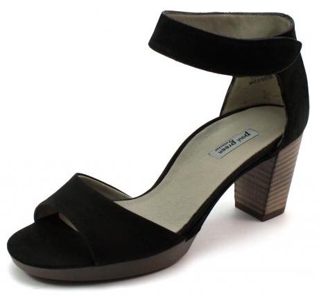 Paul Green online sandalen 6938 Zwart PAU03