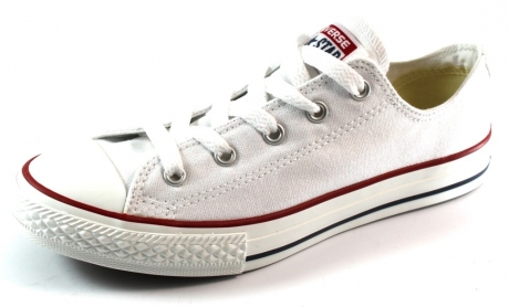 Converse All Stars lage sneaker kids Wit ALL09