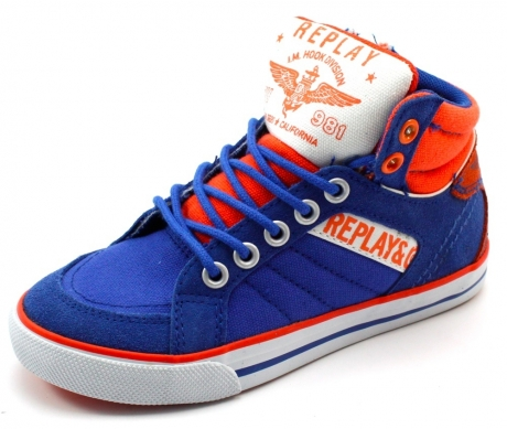 Replay sneakers online Haverford Blauw REP14