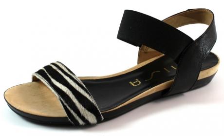 Unisa sandalen online Aladin Zwart UNI45