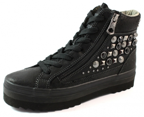 Replay Yoko sneakers studs Zwart REP03