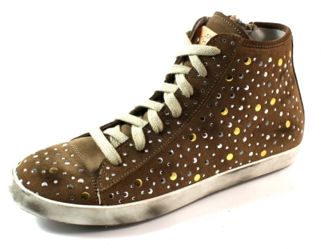 Civico 38 sneakers online Mary studs Beige / Khaki CIV04