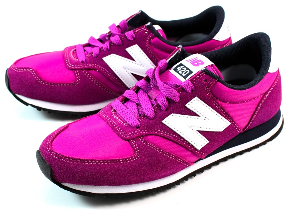 paarse new balance dames