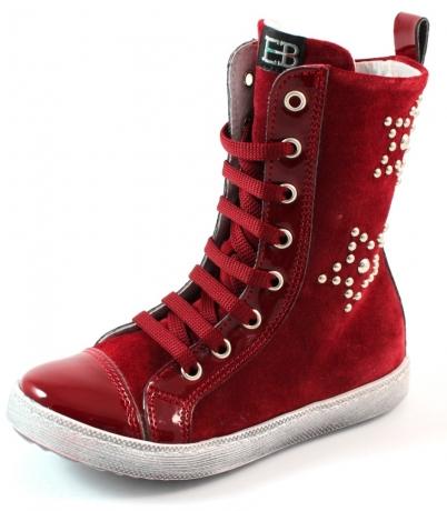 EB shoes online laarzen 706 Rood EB04