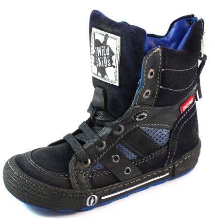 Shoesme hoge sneakers WK3W105 Blauw SHO60