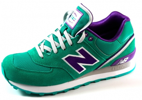 New Balance online sneakers dames WL574 Olive NEW20