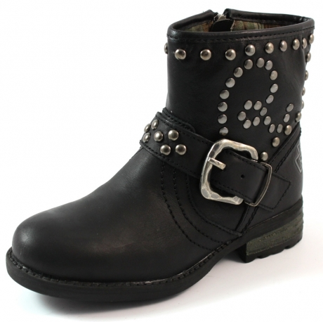 Replay online bikerboot Wakefield Zwart REP02
